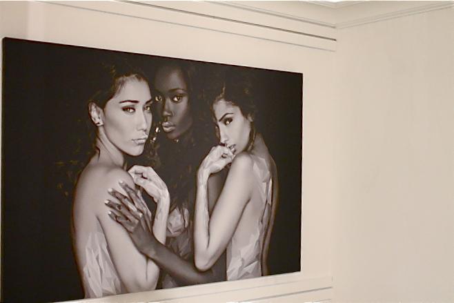 Rocky Rug x Lance Gross Les Femmes Maxwell Dickson Gallery