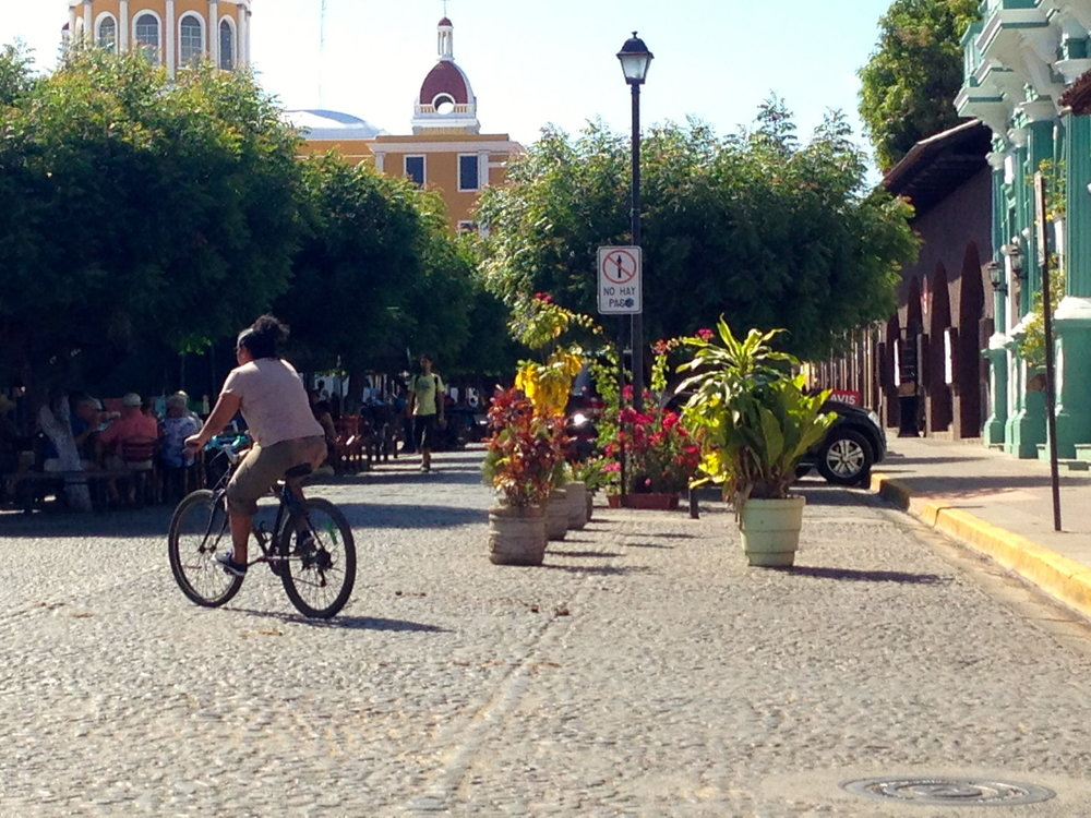 A brunch view in Granada