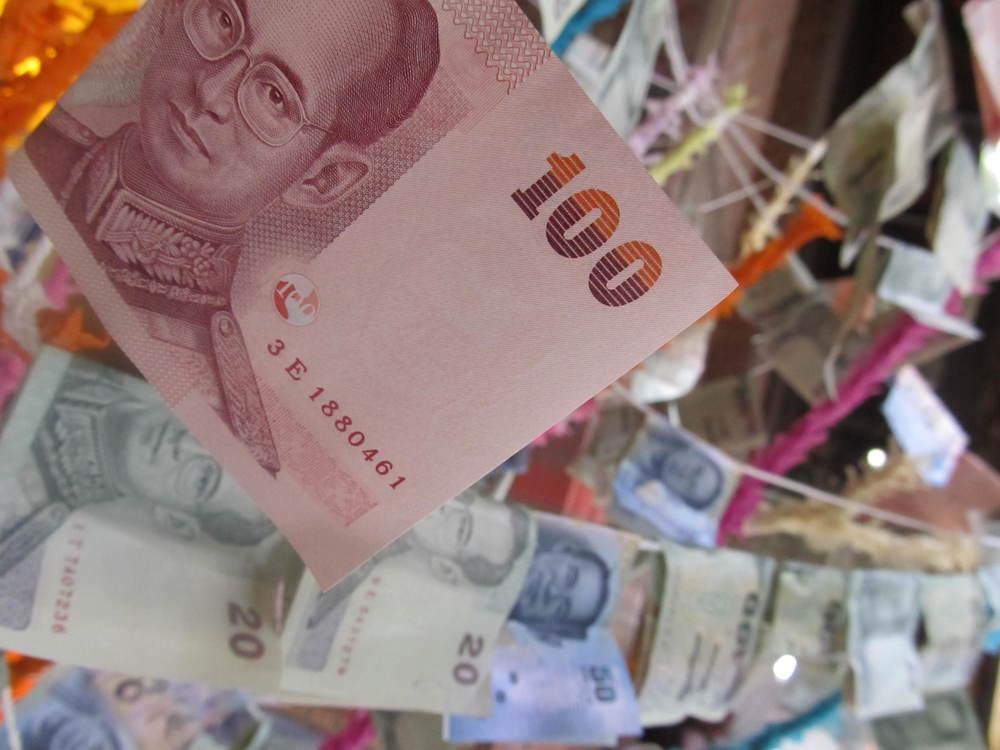 100 Baht = US $3