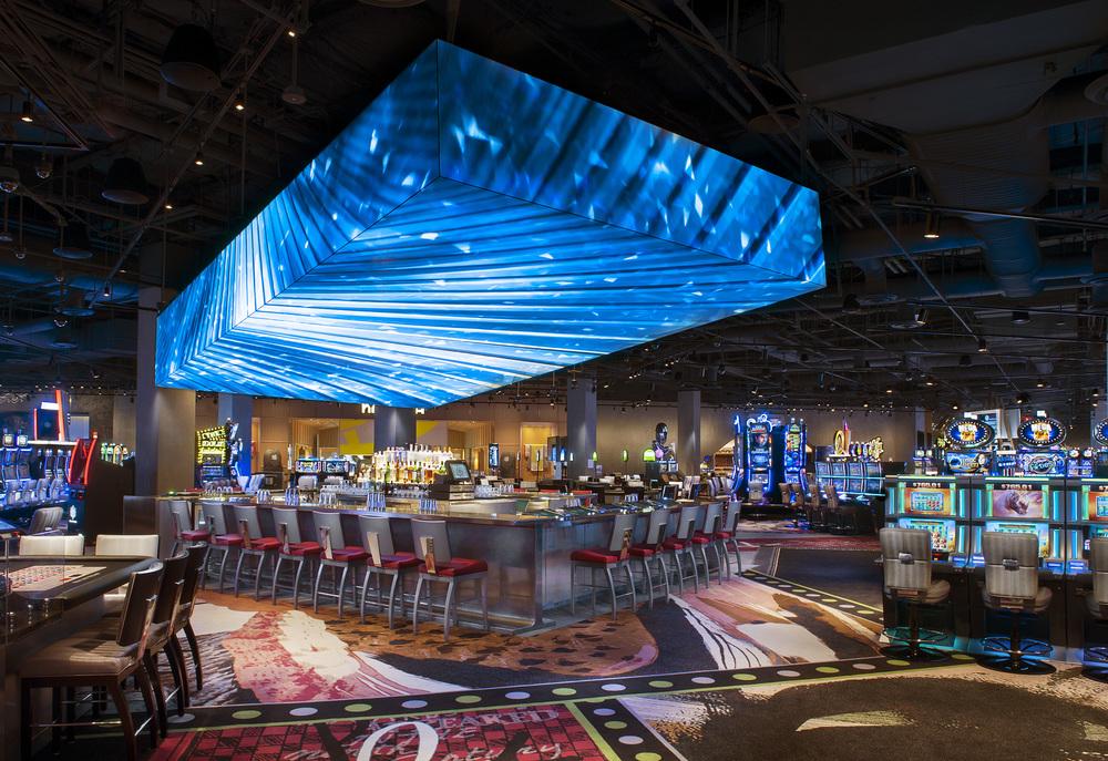 Casino interior - photo via SLS