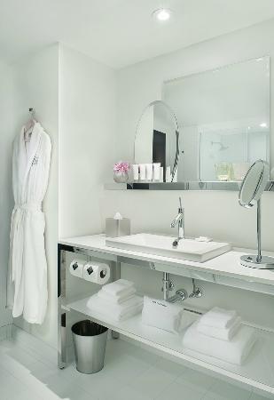 World Tower bathroom - photo via SLS