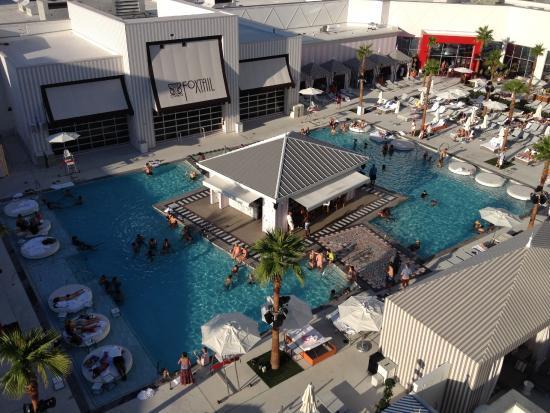 SLS' Foxtail Pool Club - photo via TripAdvisor