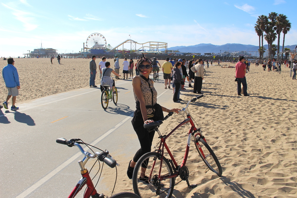 Santa Monica Bike Riding