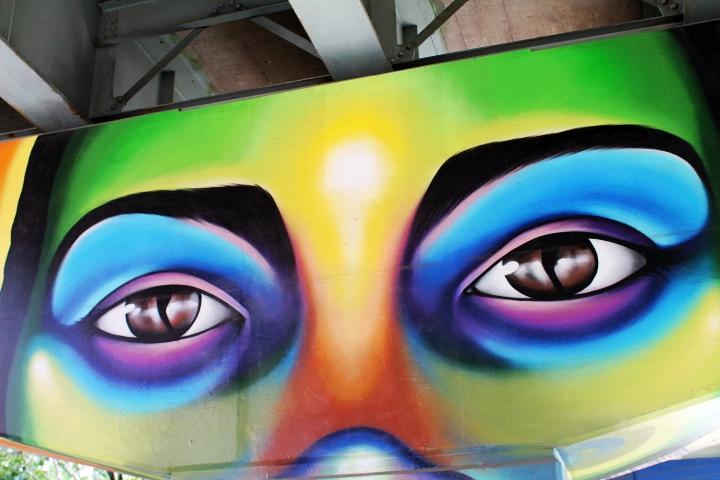 Toronto underpass graffiti