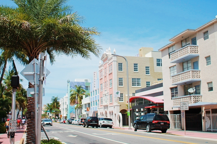 Notorious South Beach streets