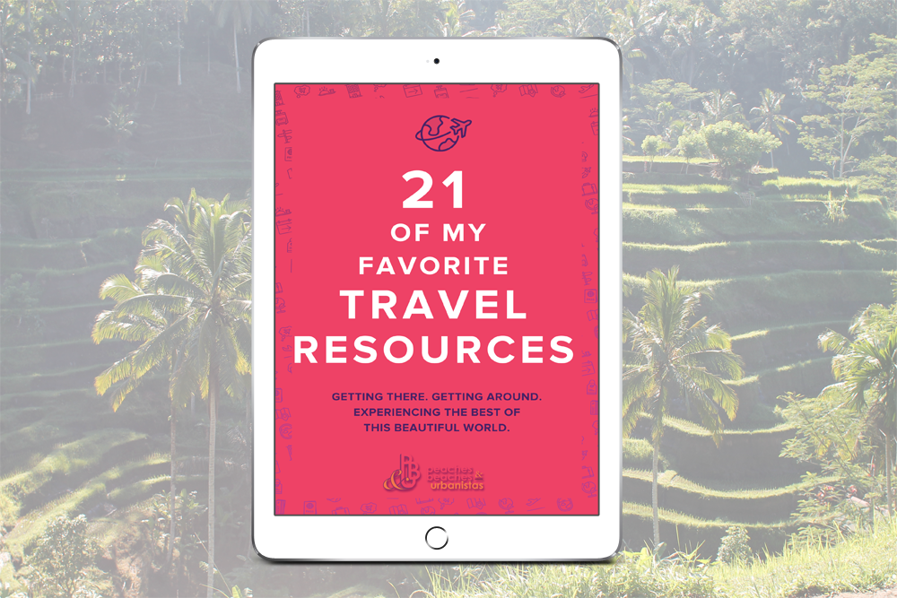 Resources to help you travel more, better