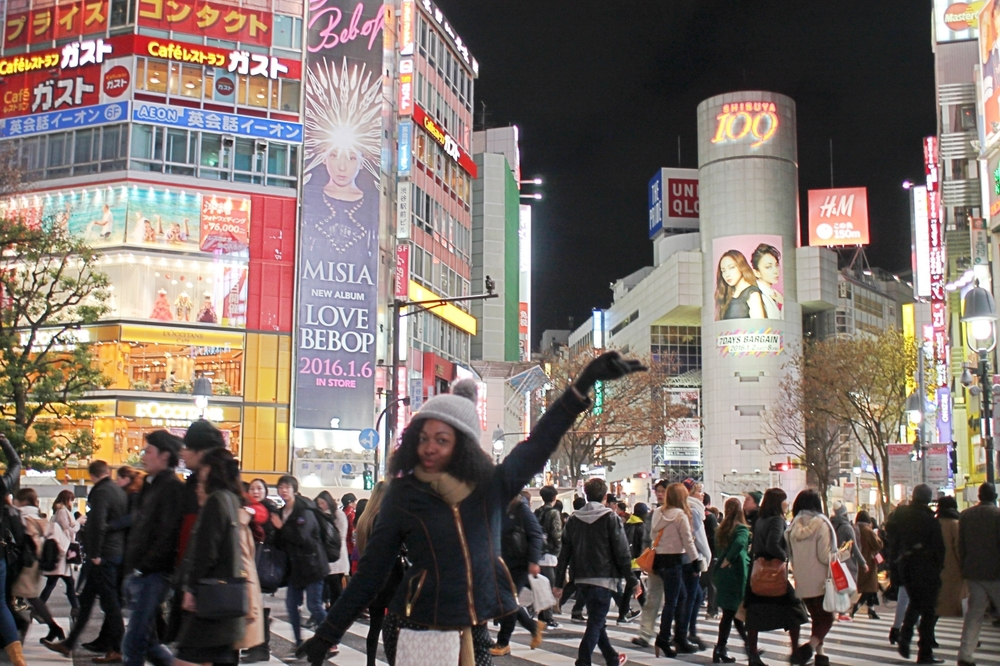 Shibuya Crossing - one of the busiest intersections in the wolrd