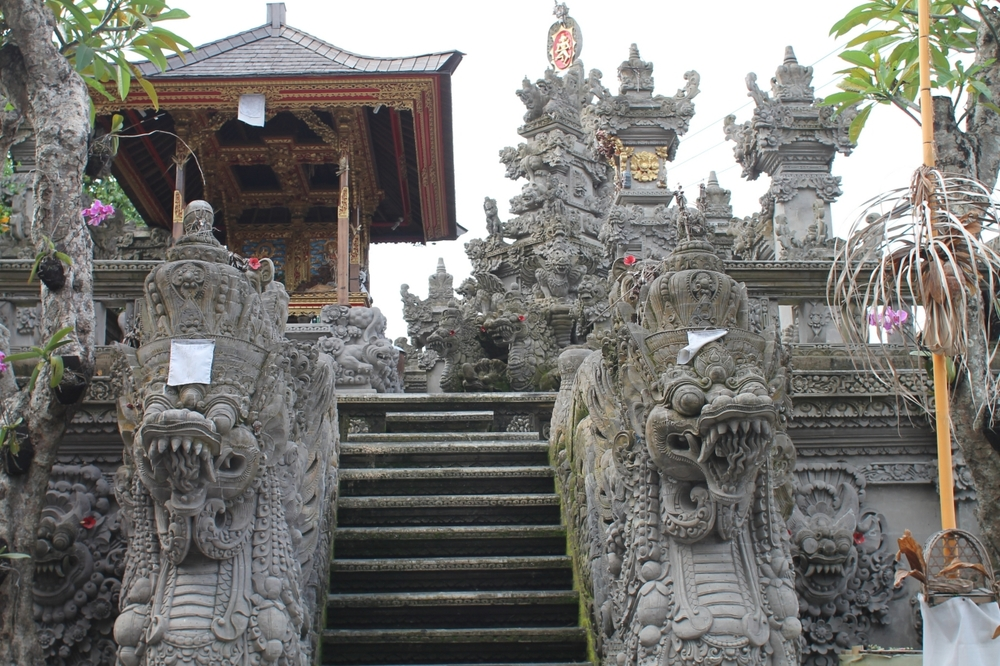 Intricate Balinese Temple