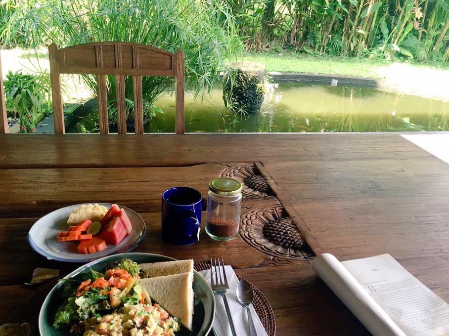 ~$5 breakfast // Pondok Wahyu Villa