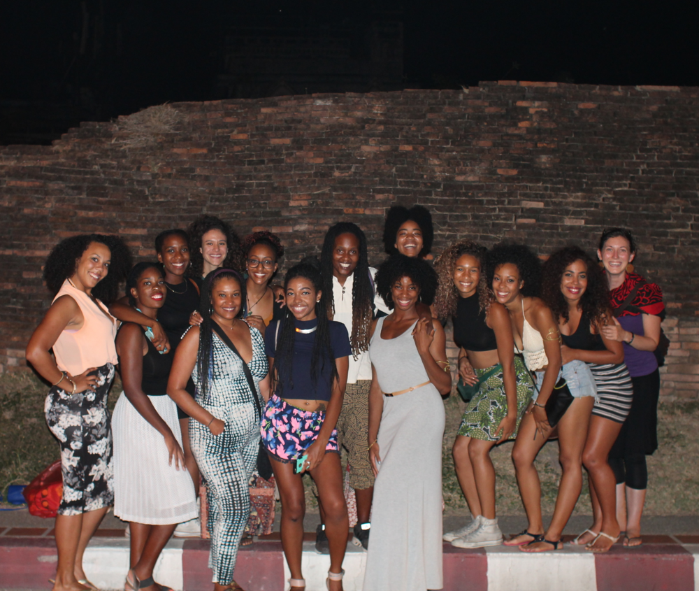 Bringing so much Black Girl Magic to Thailand -- this was a night for the books