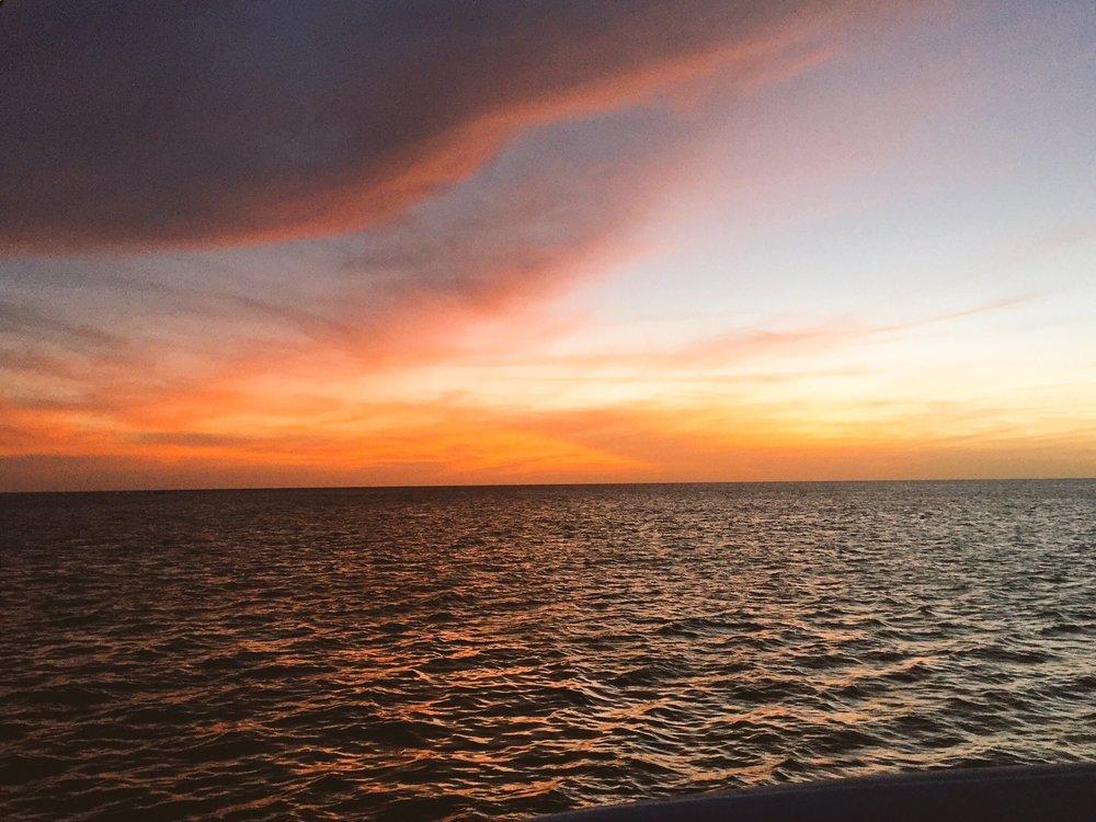 black-travel-blog-sunset-cruise-catamaran