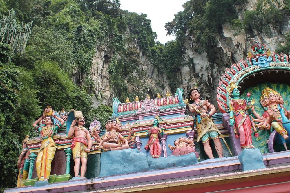 kuala lumpur batu caves hindu temple