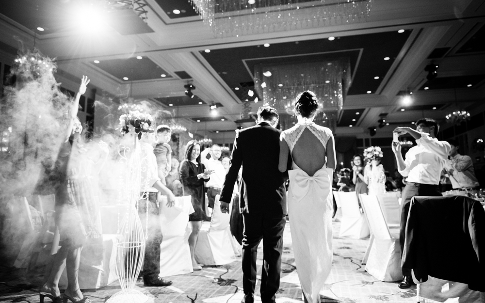 wedding-celebration-march-in-blackandwhite