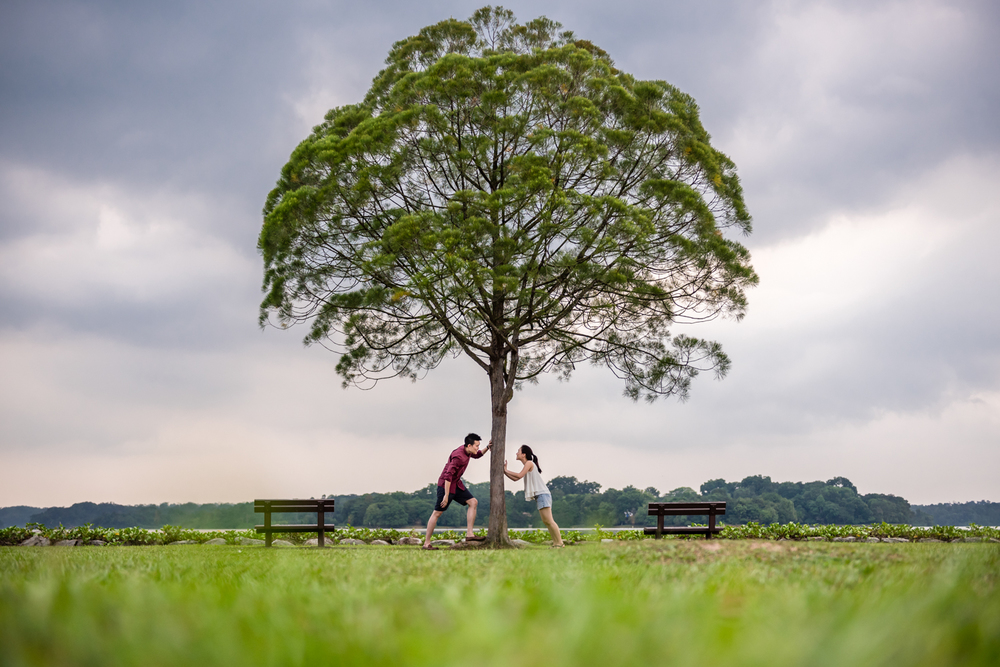 Pre Wedding Shoot Nature Singapore (1 of 7).jpg