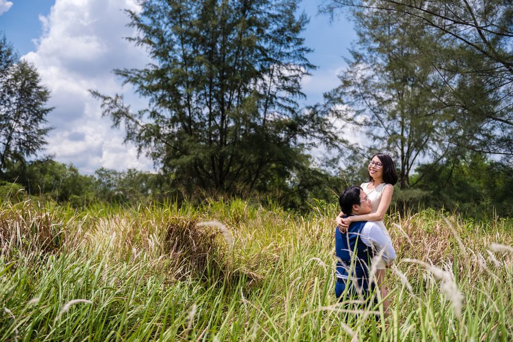 Pre Wedding Shoot Punggol Waterway SIngapore (2 of 5).jpg