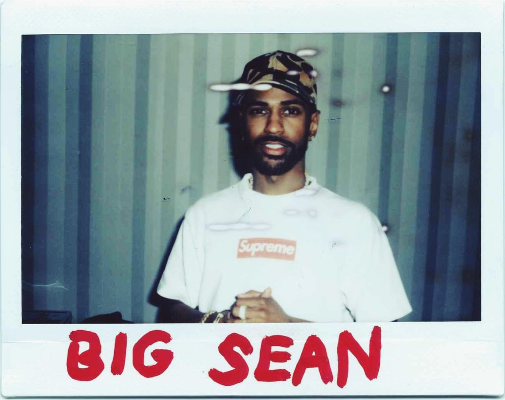 Big Sean Polaroid - photo by Interracial Friends