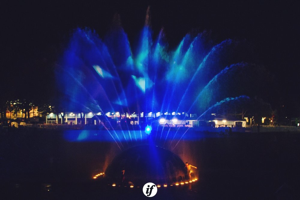 Fountain - photo by Interracial Friends