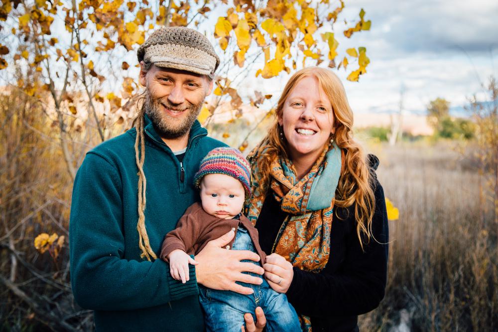 family portraits in moab, utah