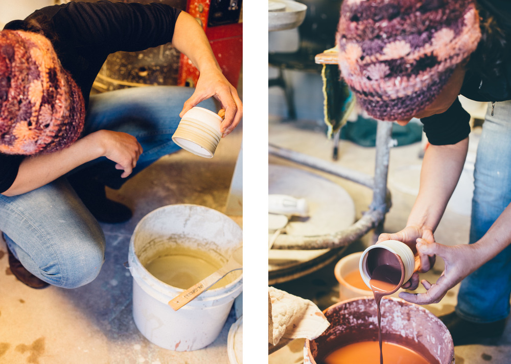 jessica dye pottery in moab, utah