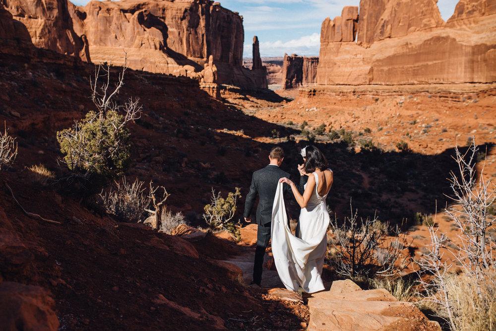 moab wedding photographer arches