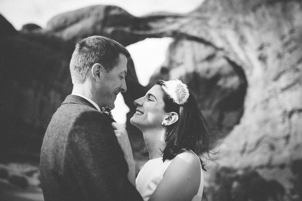 moab wedding arches