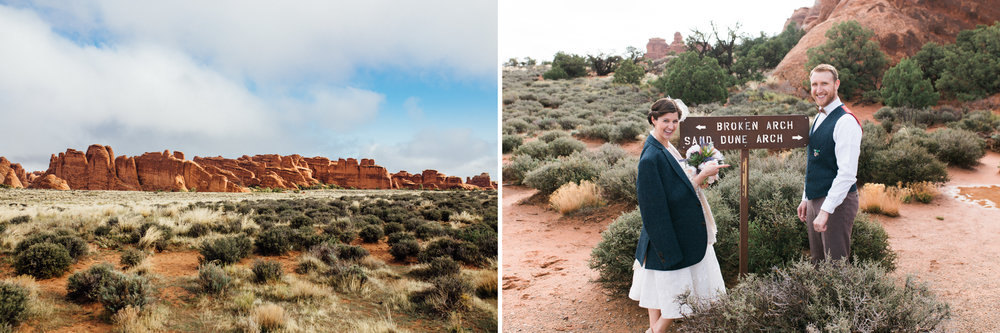 arches national park wedding