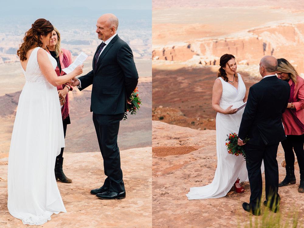 moab utah adventure outdoor wedding canyonlands national park