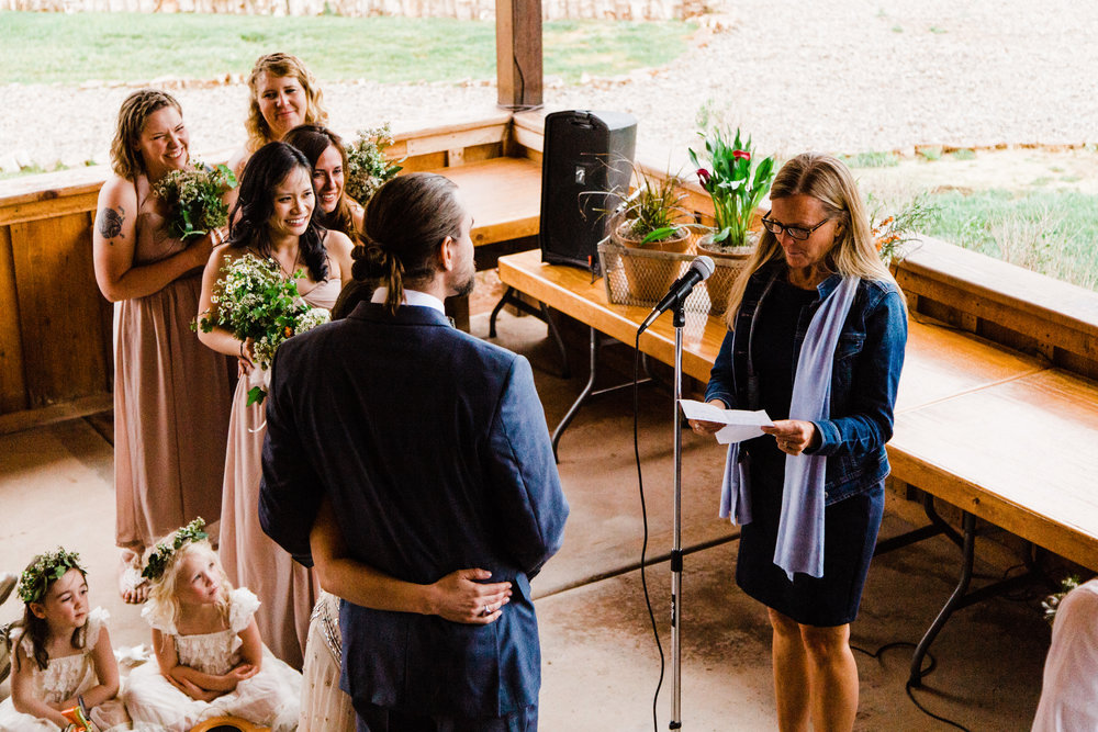 moab utah red cliffs outdoor wedding