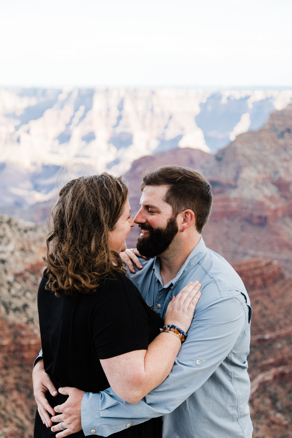 grand canyon national park engagements couples