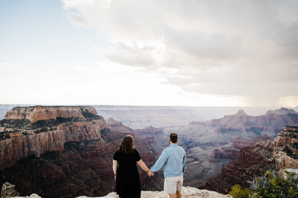 grand canyon anniversary photos