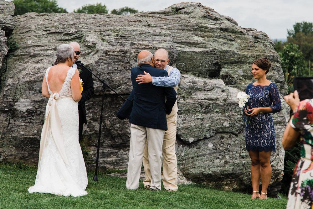 connecticut outdoor barn wedding