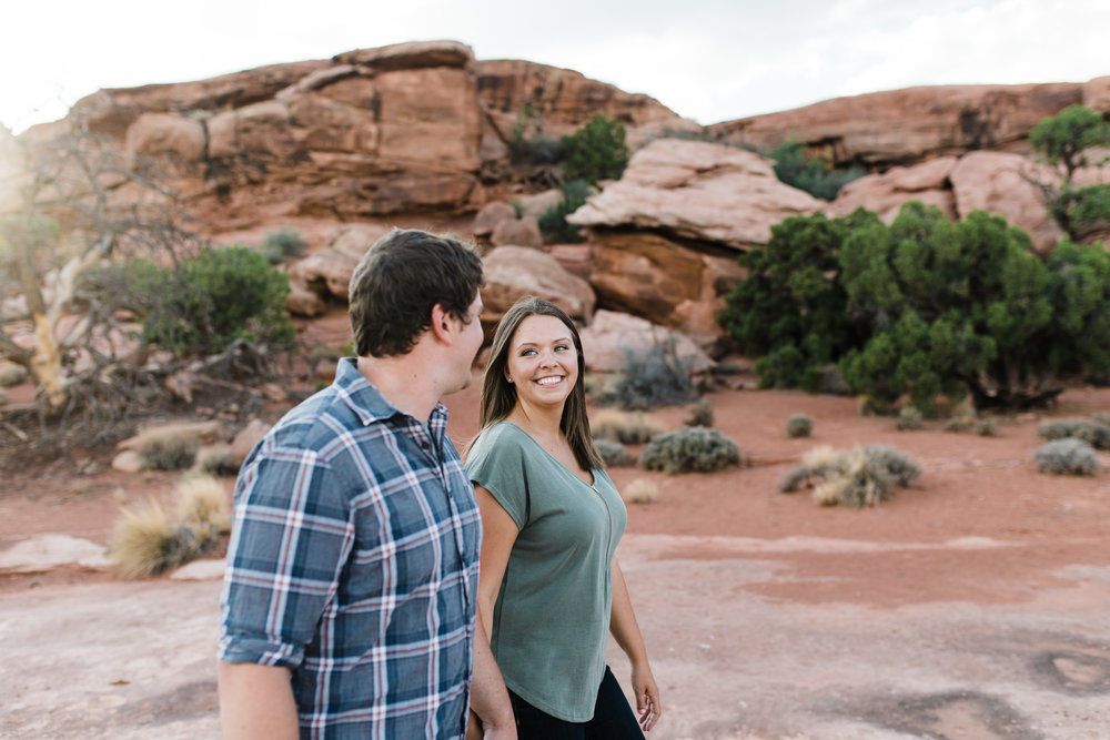 canyonlands national park outdoor adventure engagements