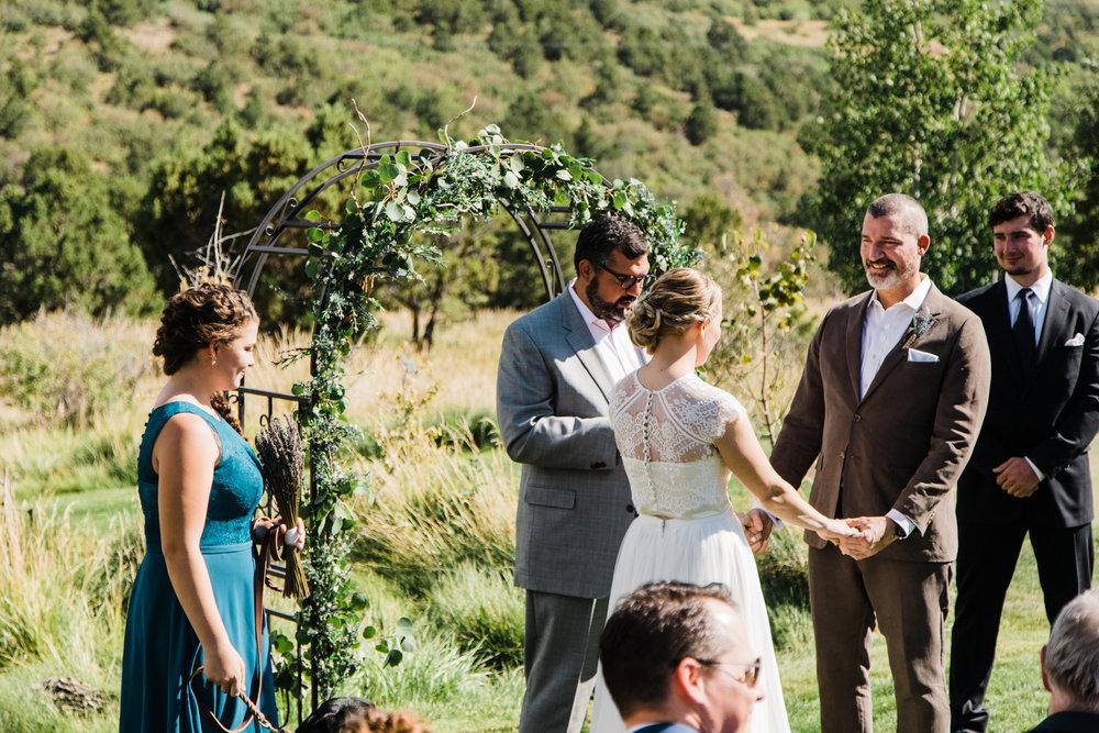 whispering oaks wedding mountain outdoor moab utah