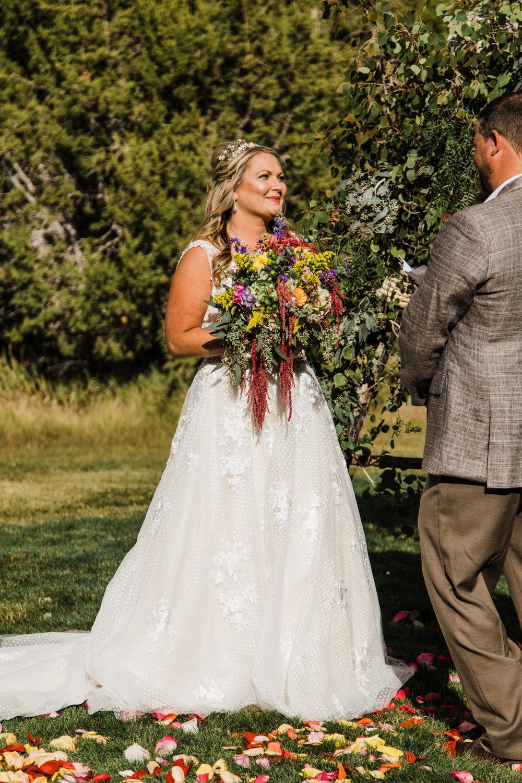 whispering oaks outdoor mountain wedding moab utah