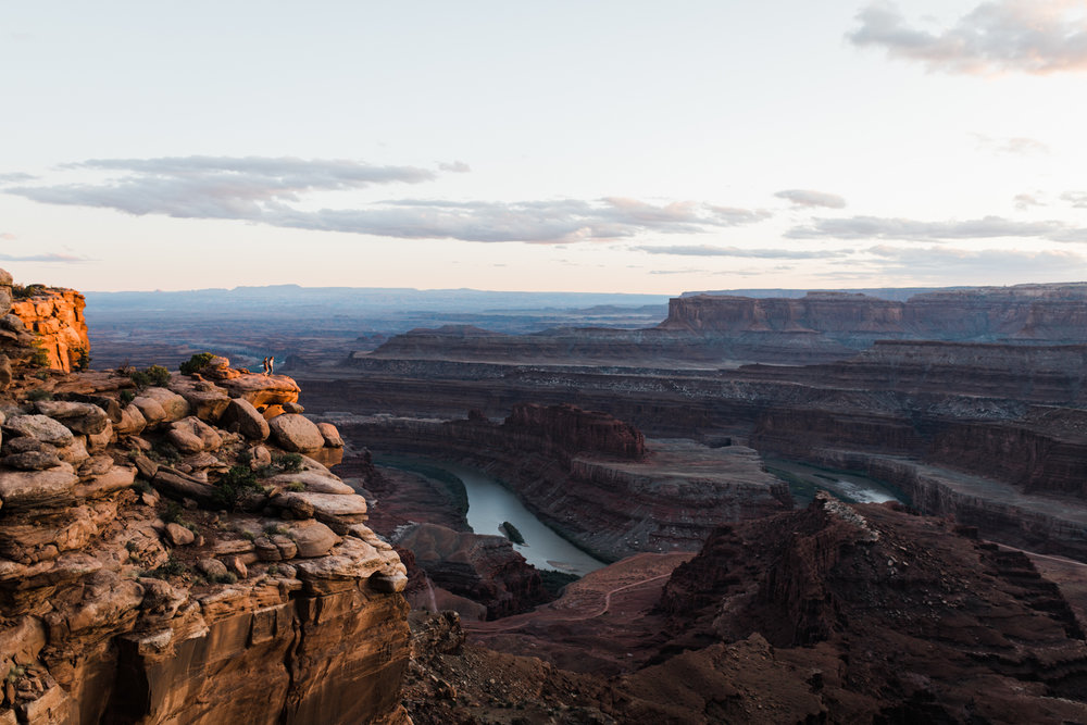 dead horse point state park Moab utah outdoor engagement