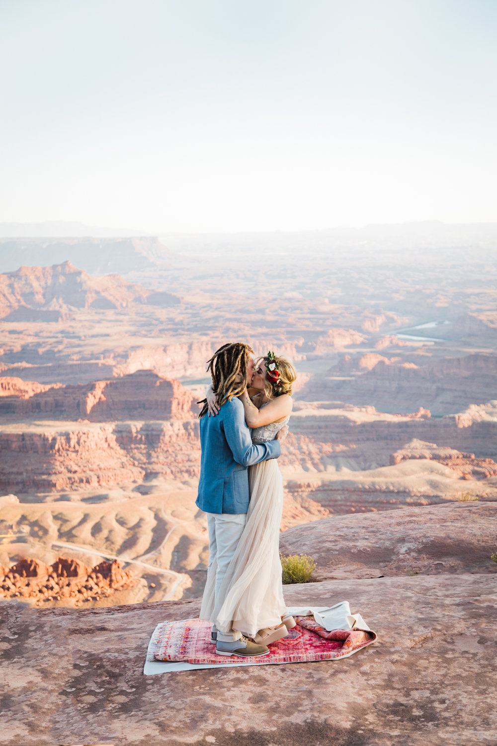 dead horse point wedding moab utah