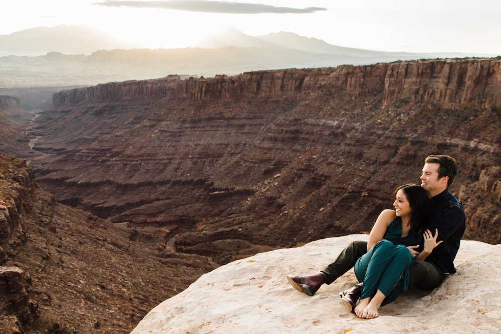Moab wedding photographer utah engagements