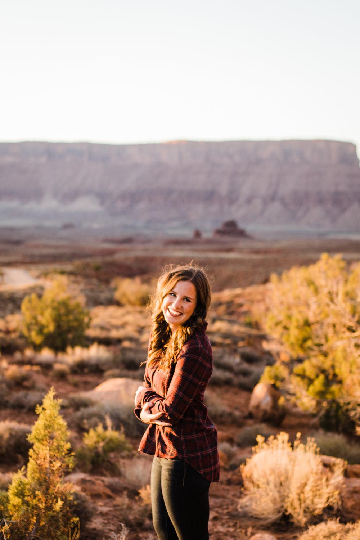 moab wedding photographer engagement session utah fisher towers