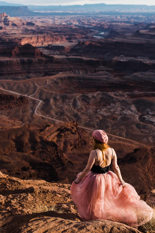 dead horse point moab utah portraits wedding photographer