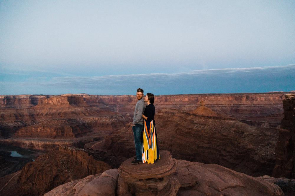 dead horse point state park wedding photographer moab utah