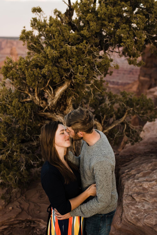 dead horse point state park wedding photographer moab utah]\