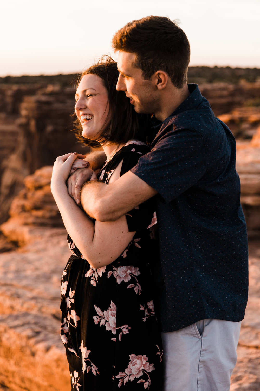 dead horse point engagements wedding moab utah