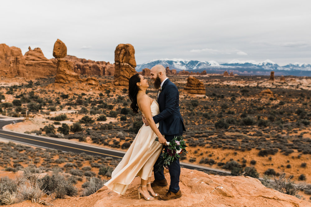 arches national park wedding moab utah elopement outdoor