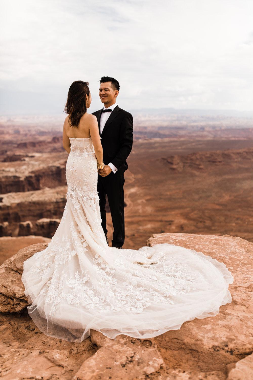 canyonlands national park elopement