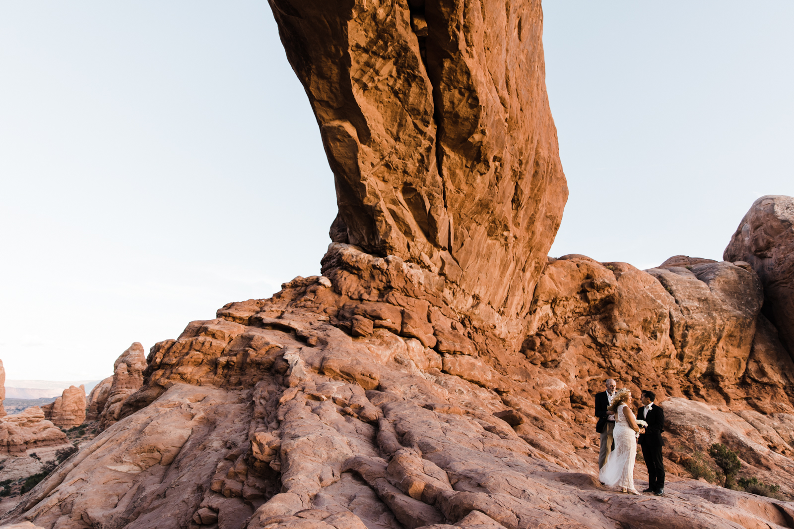 arches wedding photographer