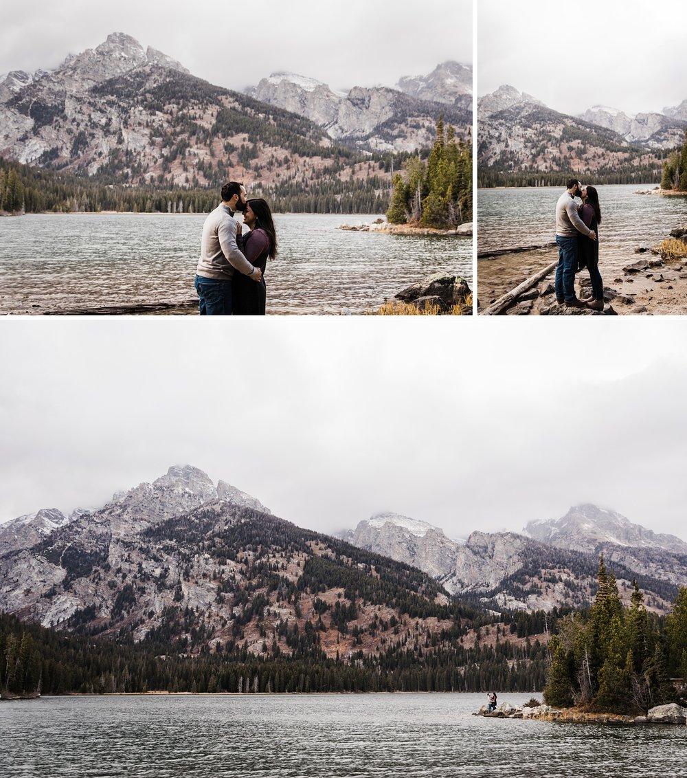 grand teton engagement photographer