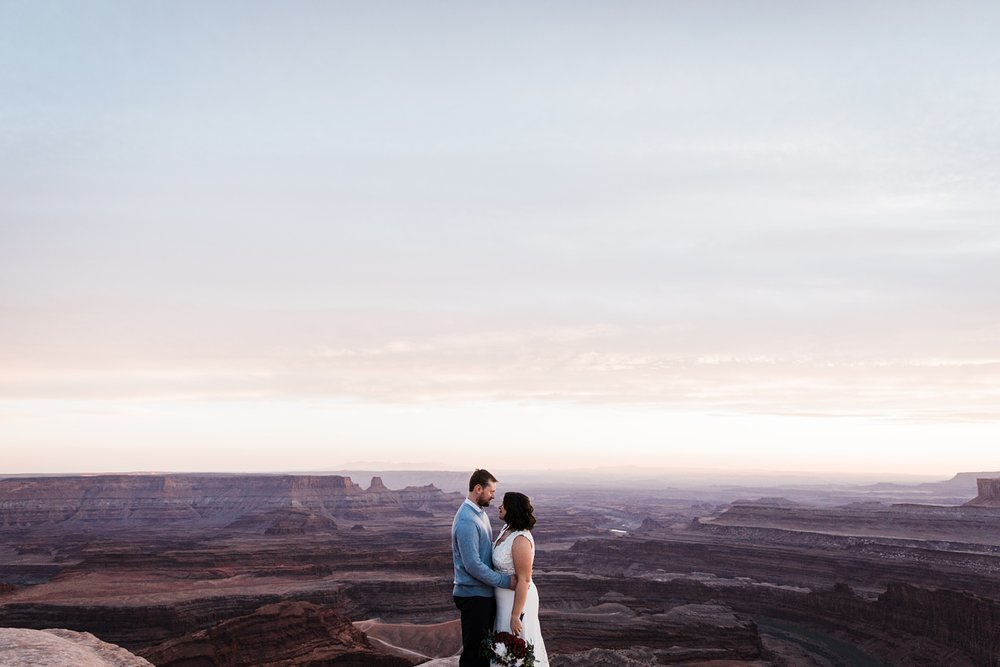 dead horse point elopement photographer