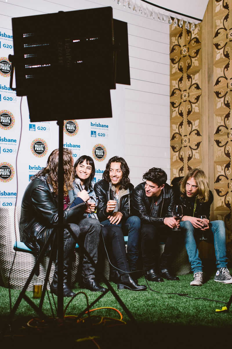 Interview with The Preatures - Day One