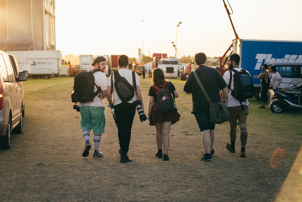 My Photopals walking into the distance :)