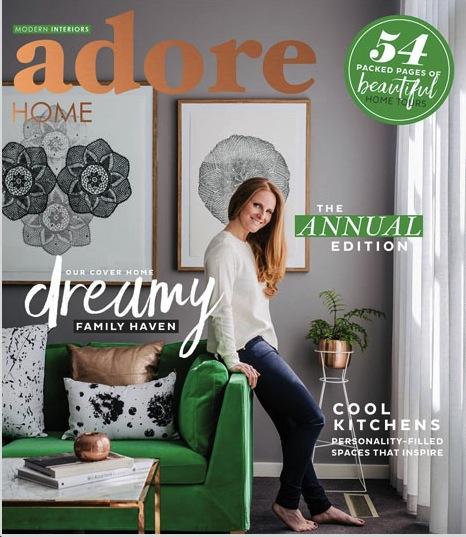 Adore Home magazine, December 2015